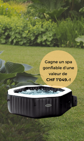 Gagnez 1 INTEX spa gonflable
