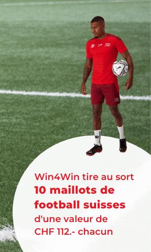 10 maillots de football suisses à gagner