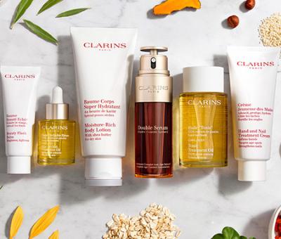 Hochwertige Kosmetik mit dem Clarins Wettbewerb und Win4Win